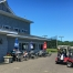 Golfers enjoy a break at the Sand Trap Grille & Bar where snacks and refreshments were available throughout the day.
